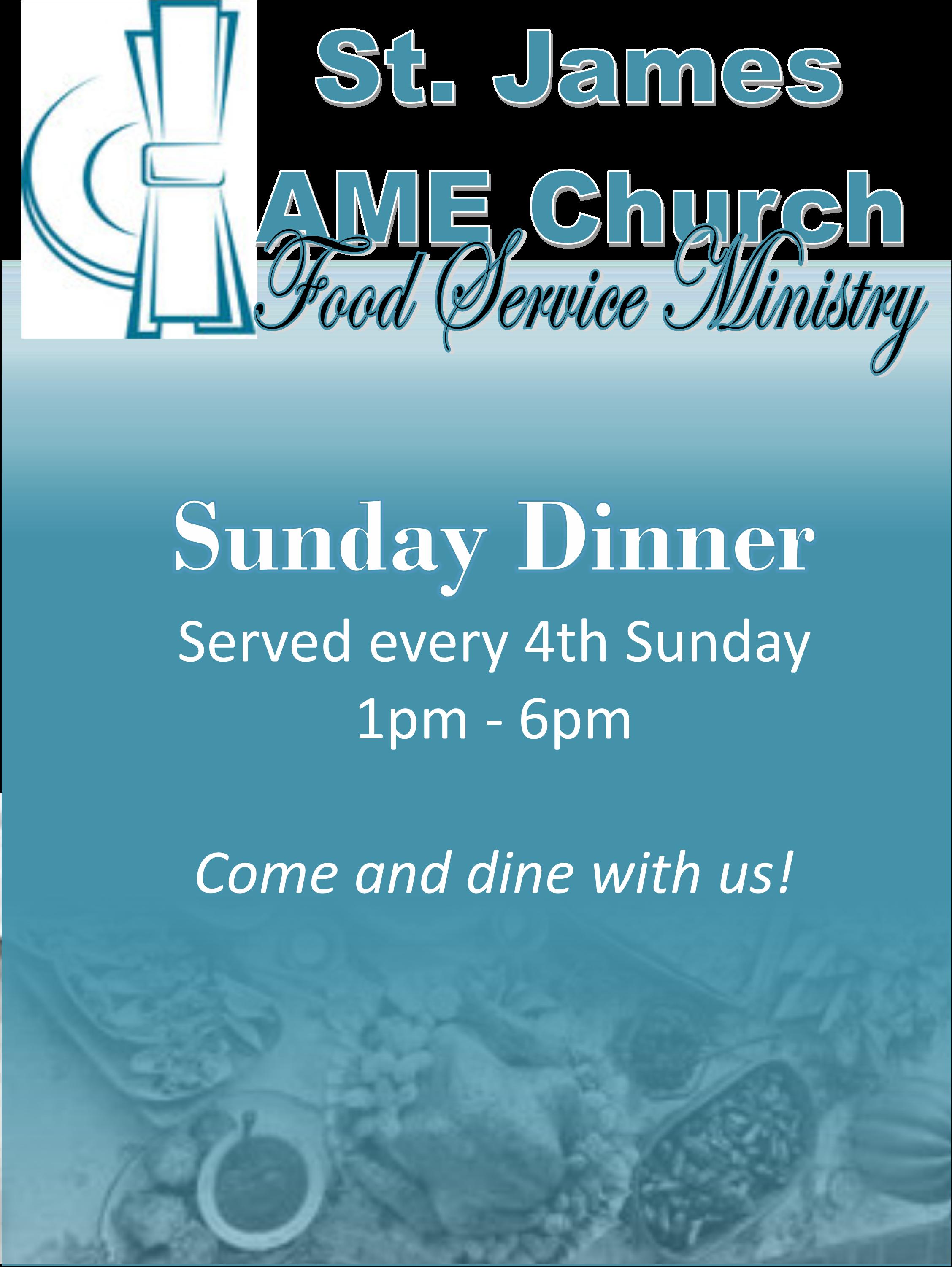 Food Ministry Flyer - v1